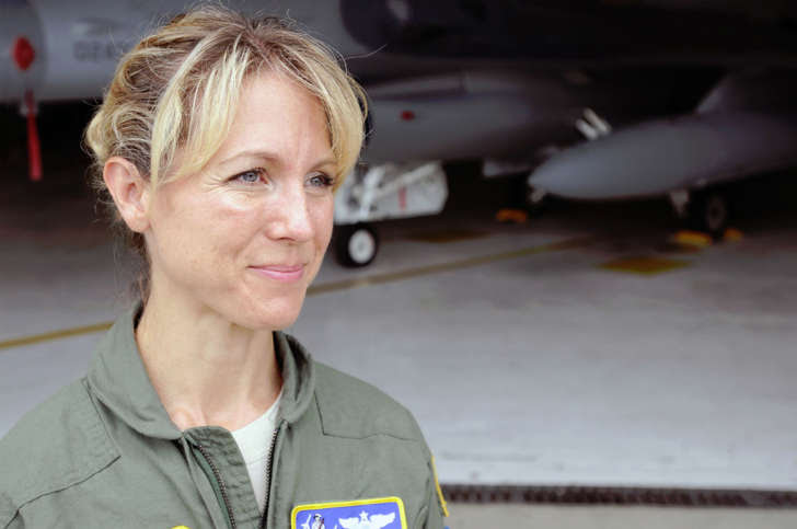 Maj. Heather Penney in 2011.