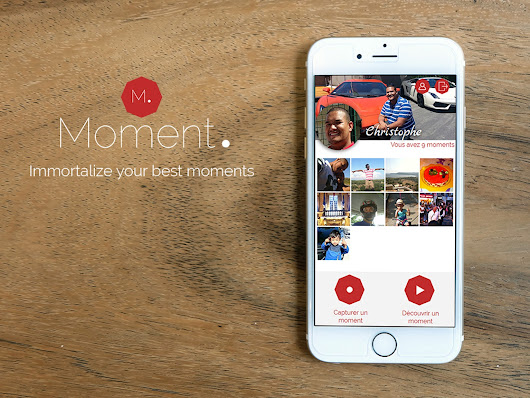 Moment : Immortalize your best moments by CR Media Creative Agency — Kickstarter