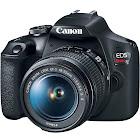 Canon EOS Rebel T7 24.1 MP SLR - Black - EF-S 18-55mm IS II Lens