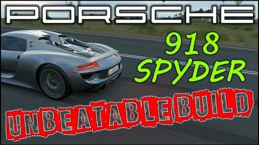 UNBEATABLE Porsche 918 Spyder Tuning Setup Forza Horizon 3 Best Handling Car Tune
