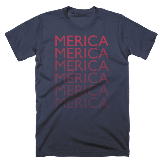 Merica Matrix Custom T-Shirt