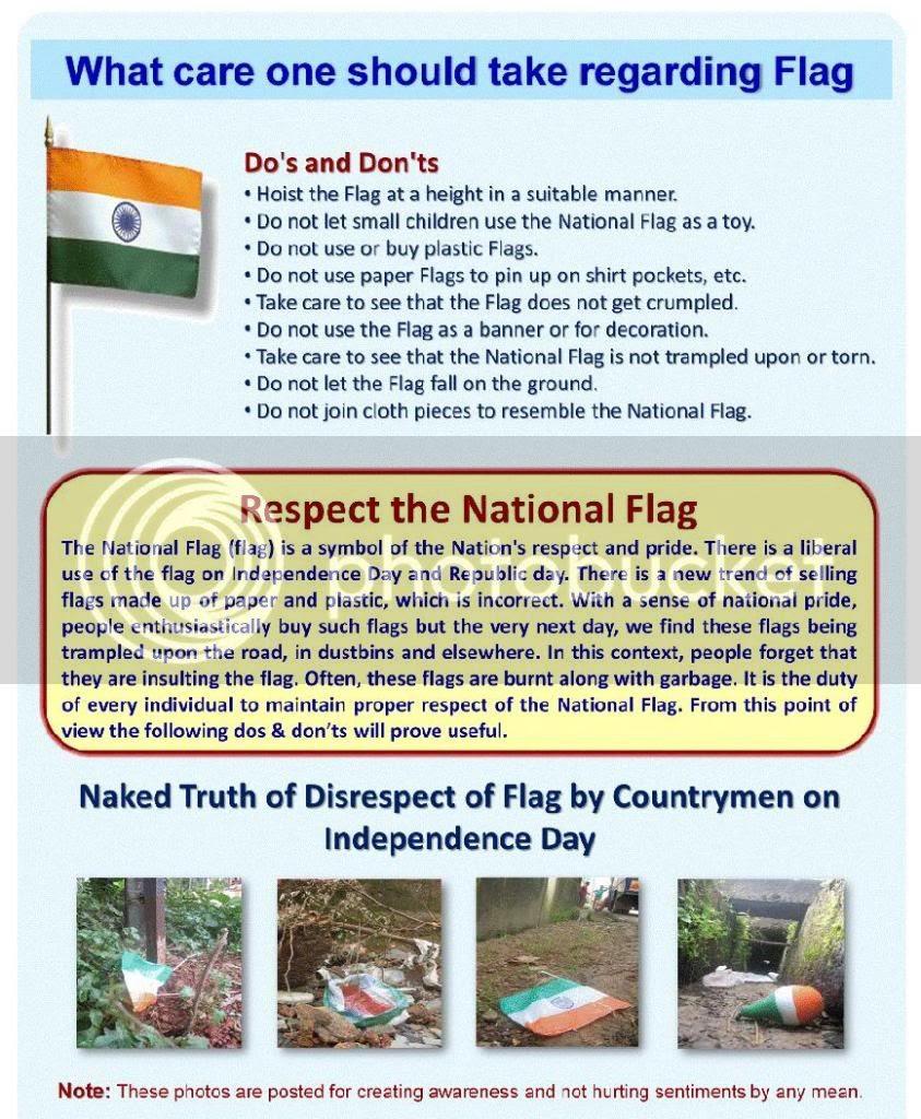 Respect the National Flag