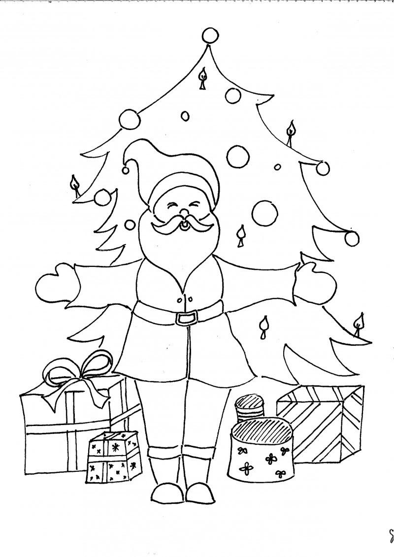 Sinterklaas Kadootjes Kleurplaat Kleurplaten Van Kerst Krijg Duizenden Kleurenfoto S Van