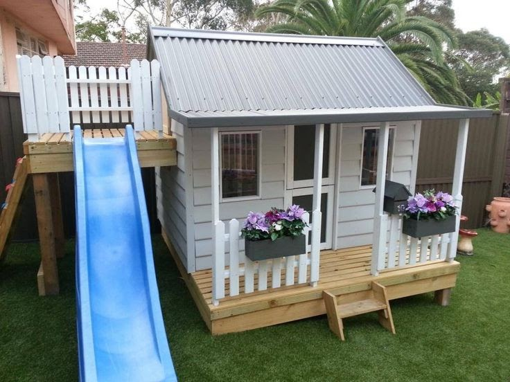 Storage Shed Playhouse Combo Plans Shed Plans Metal Roof