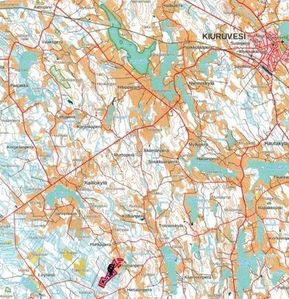 Kartta Ylöjärvi