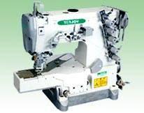 Cama plana Máquina Stretch coser Pequeño TJ600 de alta velocidad