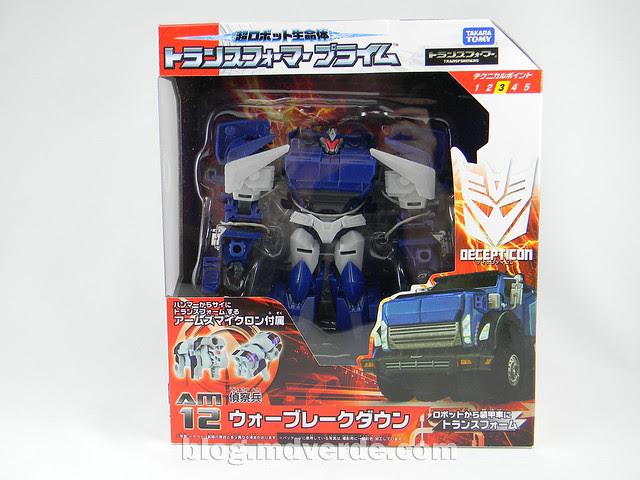 Transformers Breakdown Voyager - Prime Arms Micron - caja