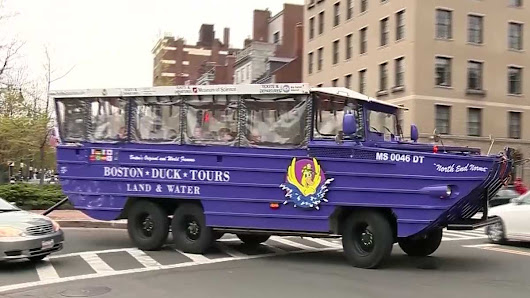 Boston's sign of spring: Duck boats are back