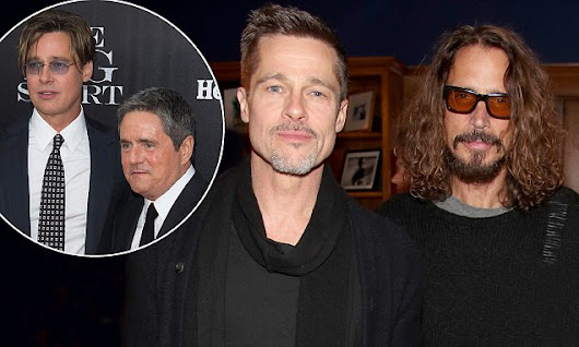 Brad Pitt crushed by deaths of Brad Grey and Chris Cornell