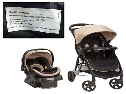 Dorel Juvenile recalls 20,000 Safety 1st strollers due to fall hazard