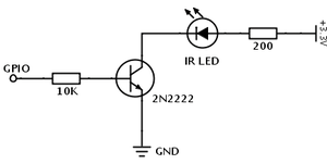 Is it safe to use a GPIO output to control an NPN transistor used a ...