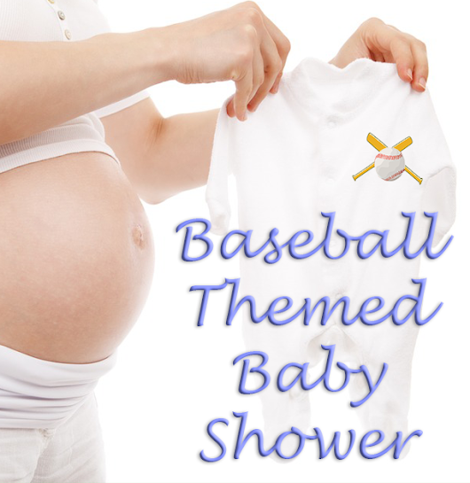 Baseball Themed Boy's Baby Shower  | Time for the Holidays