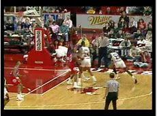Michael Jordan Revers Poster Dunk on Manute Bol   YouTube