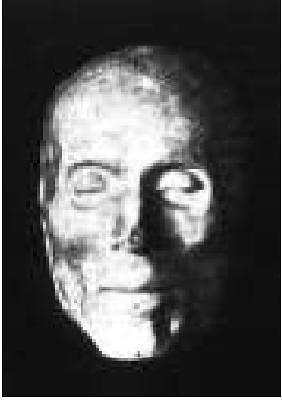 Cardenal Tavera, máscara mortuoria empleada para su sepulcro por Berruguete