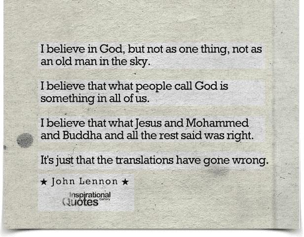 John Lennon Quotes Inspirationalquotesgallery