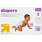 Diapers Giant Pack Size 3 - 160ct - Up&Up , Size: Size 3 (160 Count), White
