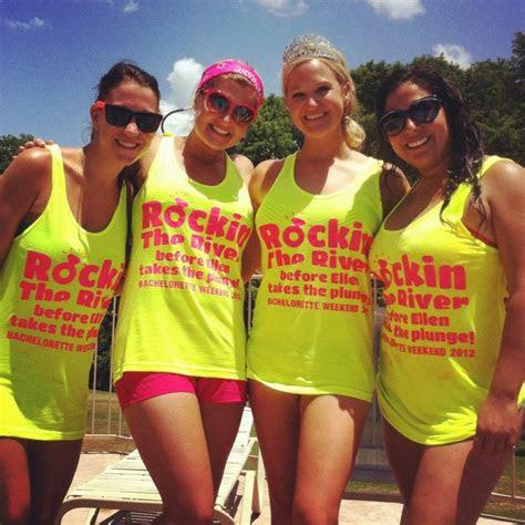 river bachelorette party tanks congrats ellen