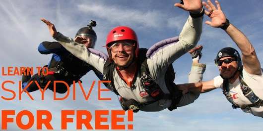 Learn To Skydive For Free!