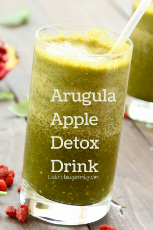 Arugula Apple Detox Drink