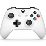 Microsoft Wireless Controller for Xbox One and PC - White