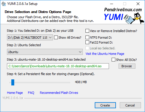 make usb bootable YUMI – Multiboot USB Creator (Windows)