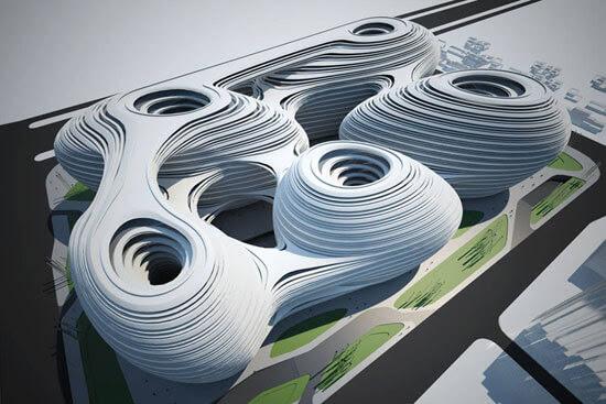 zahahadid01 14 Futuristic Building Designs in China