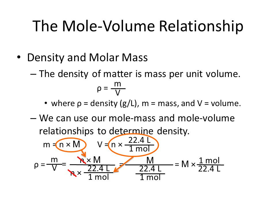 how to find volume chemistry
