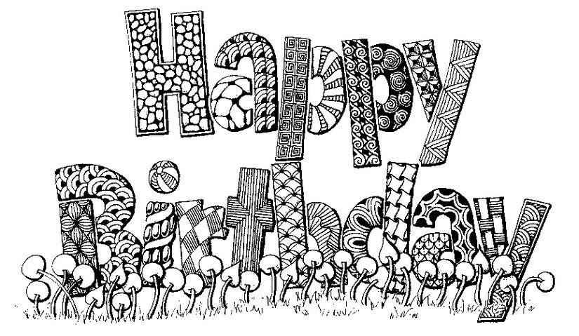 happy birthday ausmalbilder für erwachsene  malvorlagen
