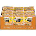 Maruchan Instant Lunch, Roast Chicken Flavor - 12 pack, 2.25 oz cups