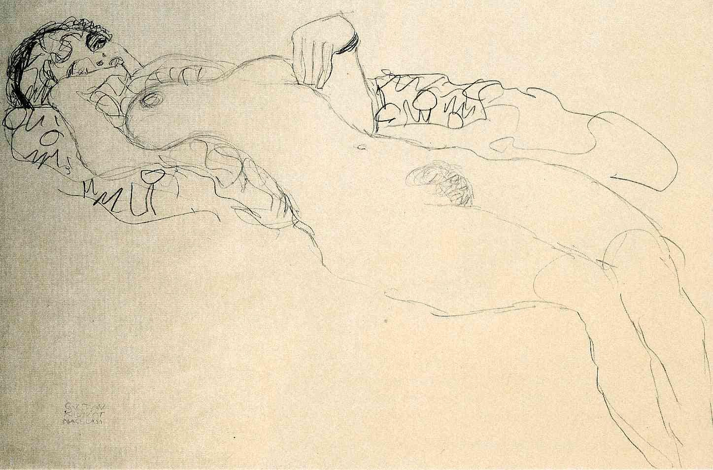 Gustav Klimt erotica sensual19