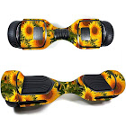 MightySkins SWT580-Sunflowers Skin Decal Wrap for Swagtron T580 Hoverboard Sticker - Sunflowers