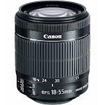 Canon EF-S Zoom Lens for Canon EF/EF-S - 18mm-55mm - F/3.5-5.6