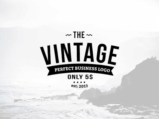 realisticlogo : I will do perfect vintage business logo for $5 on www.fiverr.com