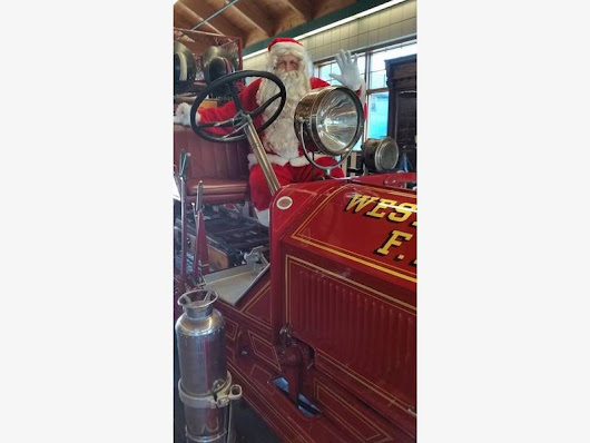 Plans are in the works for the Westminster Fire Dept Santa detail