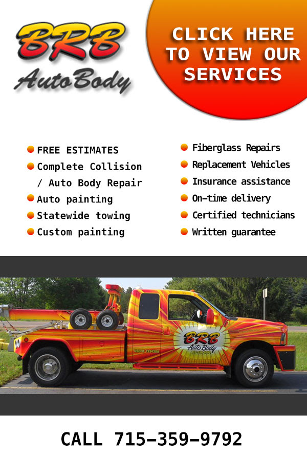Top Service! Professional Collision repair near Central Wisconsin