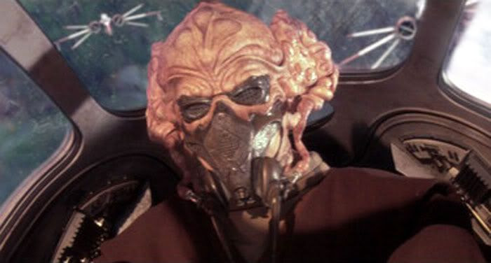 Jedi Master Plo Koon moments away from being betrayed by his clone wingmen.