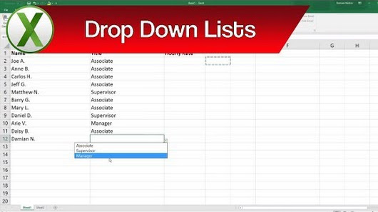 how to see excel easier