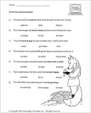 What S The Good Verb Vi Free Vocabulary Review Worksheet For