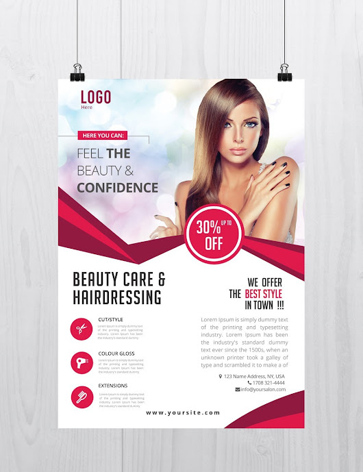 Beauty Care - Download Free PSD Flyer Template - Stockpsd.net - Free PSD Flyers, Brochures and more