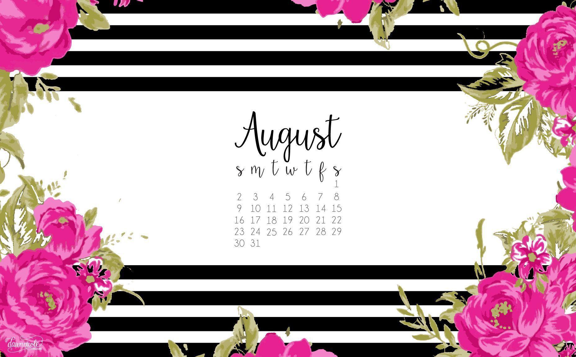 Desktop Wallpapers Calendar August 2016 - Wallpaper Cave