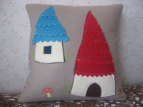 Gnome Home Pillow