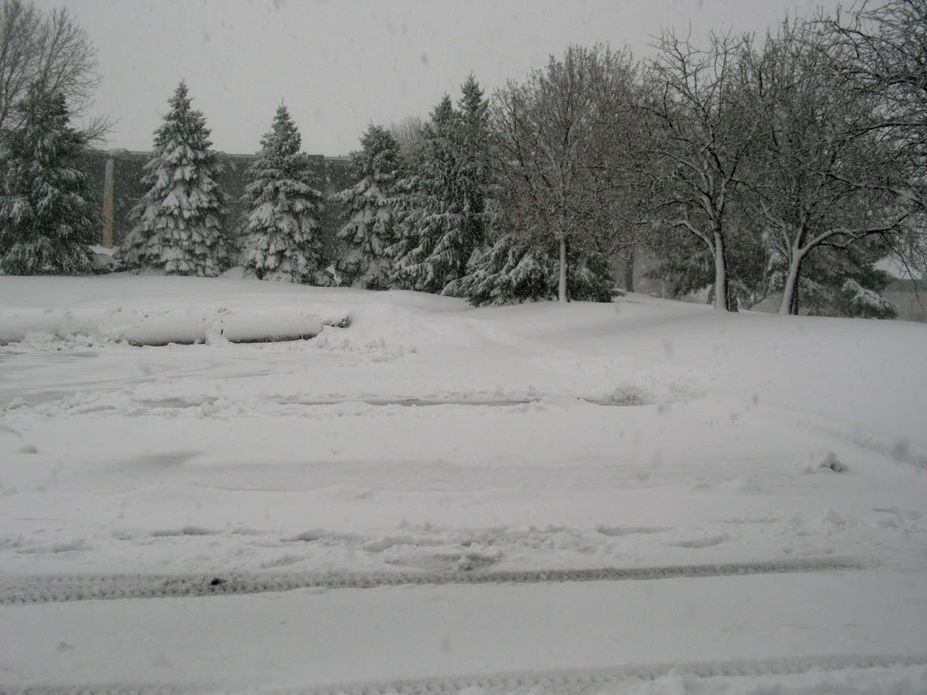 Another winter snow storm hits the Twin Cities area.