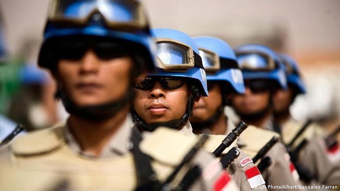 UN Friedenstruppen im Sudan