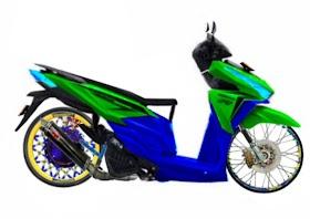 Sketsa Motor Vario 125