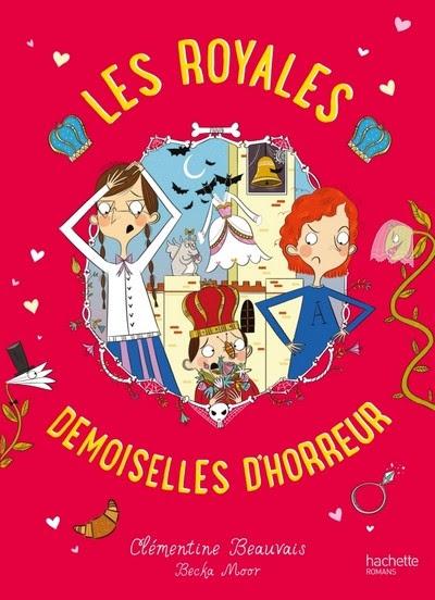 Couverture Les Royales Baby-Sitters, tome 2 : Demoiselles d'horreur
