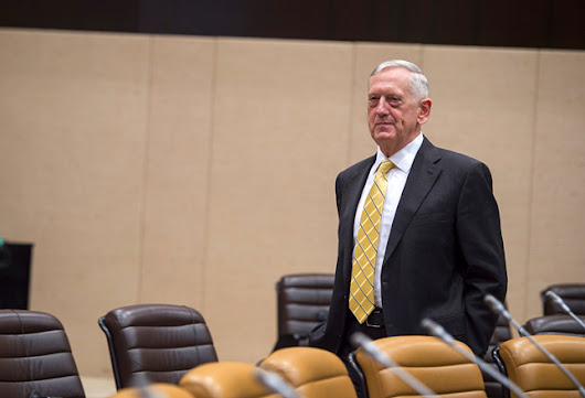 Mattis Latest in Succession of Senior Military Leaders to Warn About Climate Change