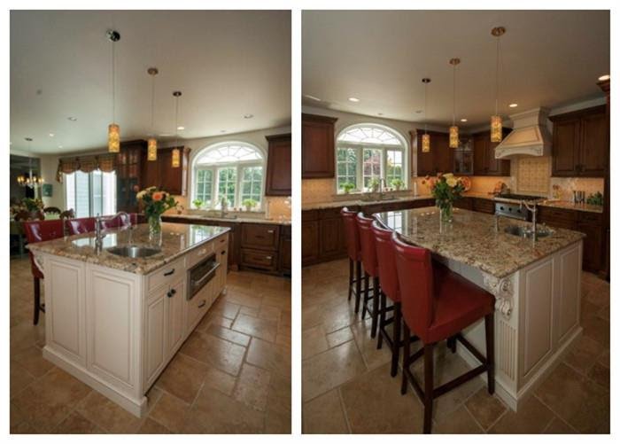China Traditional Cherry Wood Kitchen Cabinets Manufacturers Suppliers Factory Made In China Oke