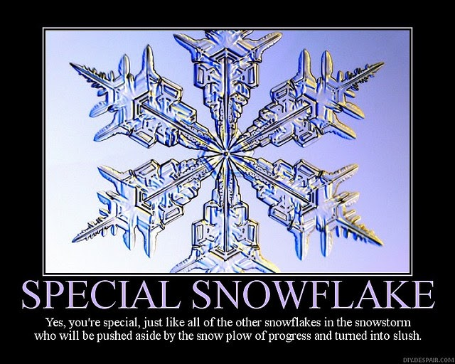 To My Fellow Caffeine-Fuelled Zombies: The Special Snowflake Paradox
