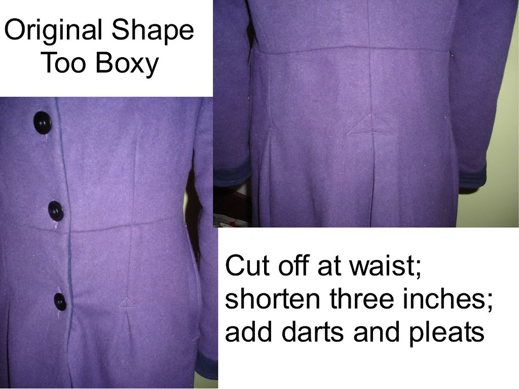 Adding Shape with Pleats and Darts