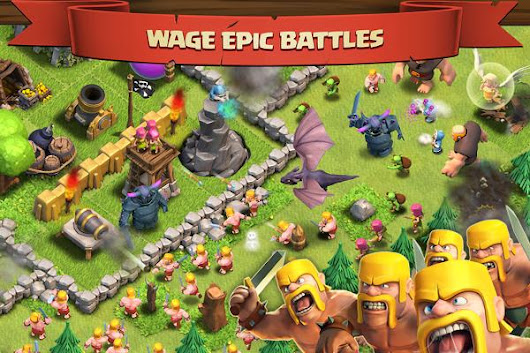 GAME ANDROID : CLASH OF CLANS